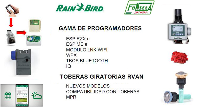 Jornada demostración Rain Bird